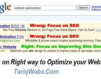 business website optimization